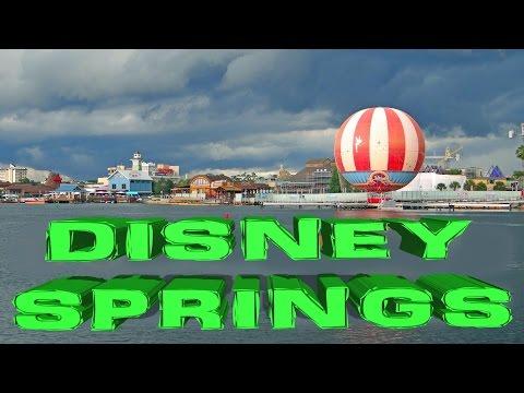 Disney Springs  - Orlando 2016 HD