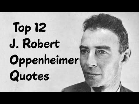 Robert Oppenheimer Quotes 2