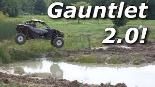 RZR Turbo S vs Maverick X3 vs Talon on Gauntlet 2.0!