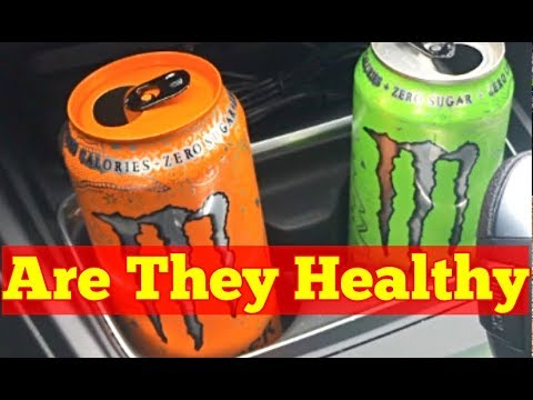 Are sugar free energy drinks bad for you