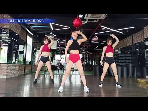 Bài tập Aerobic giảm mỡ bụng siêu nhanh | Bài tập Aerobic 26 | HLV Hồ Hàm Hương
