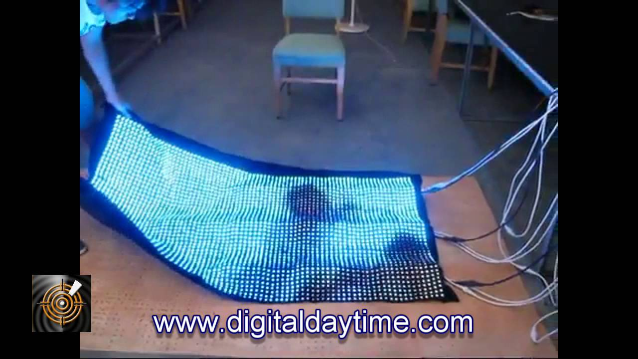 Ice Flexible Led 16mm Screen You Can Roll And Wrap Up In