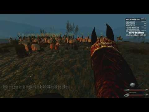 Robbaz Twitch Stream 190717: Mount & Blade: Warband - Game of thrones
