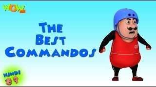 The Best Commandos - Motu Patlu in Hindi - 3D Animation Cartoon for Kids -As on Nickelodeon