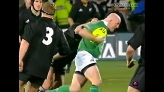 Keith Wood great plays vs New Zealand Rugby 2002