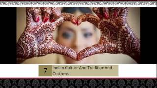 Best Indian Culture And Tradition And Customs