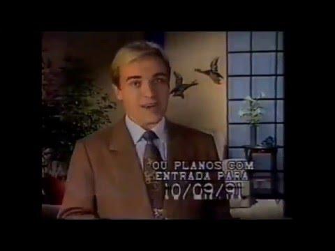 Intervalo Comercial da Rede Manchete - 13/08/1991