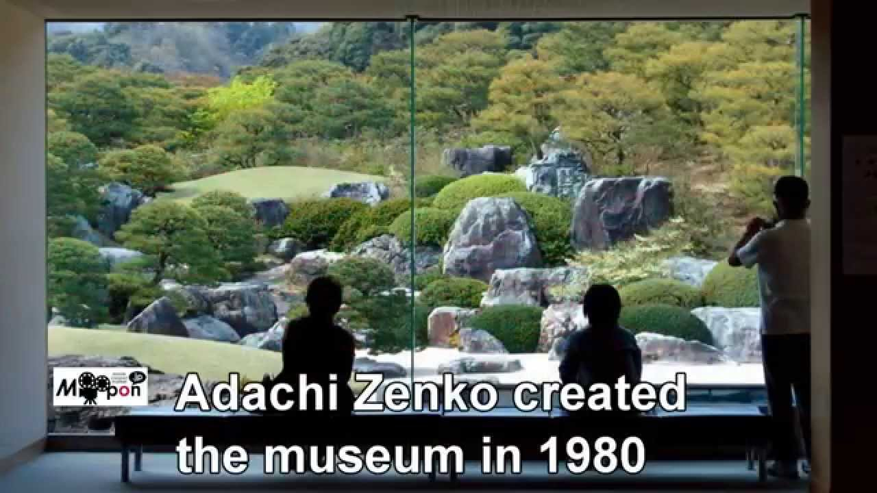Japan Travel : The Japanese Garden at Adachi Museum of Art, Yasugi City, Shim...