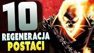 TOP 10 REGENERUJĄCYCH Postaci Marvela - Komiksowe Ciekawostki & Radioactive TV