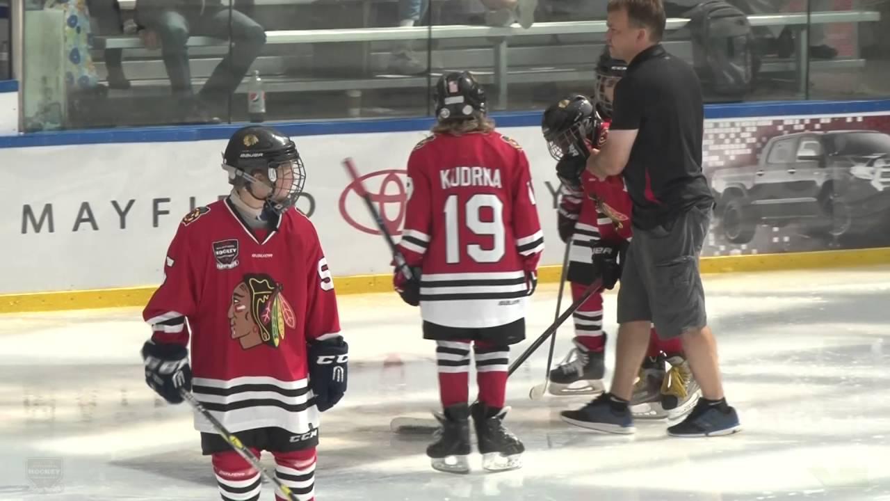 2016 Detroit Jr Redwings Vs Chicago Jr Blackhawks Youtube