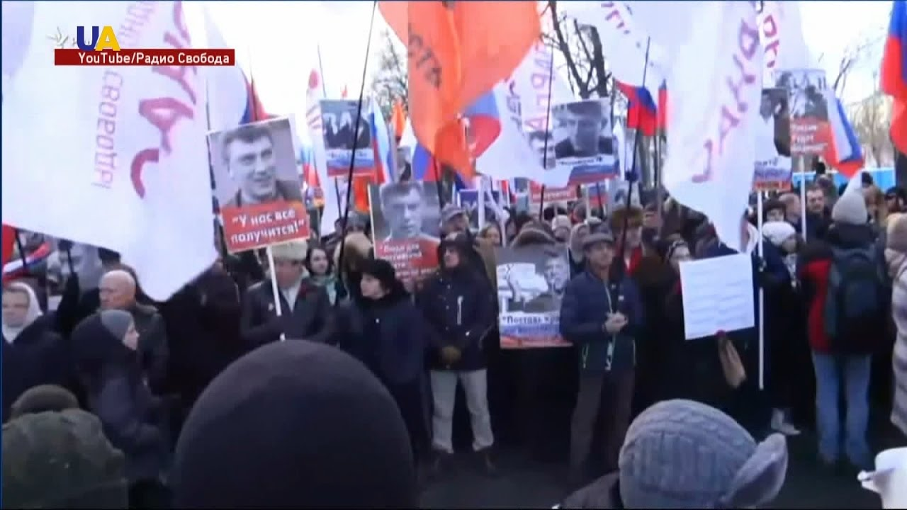 По всей России прошли акции памяти Бориса Немцова - YouTube: https://www.youtube.com/watch?v=E9pJ2q6kxuk