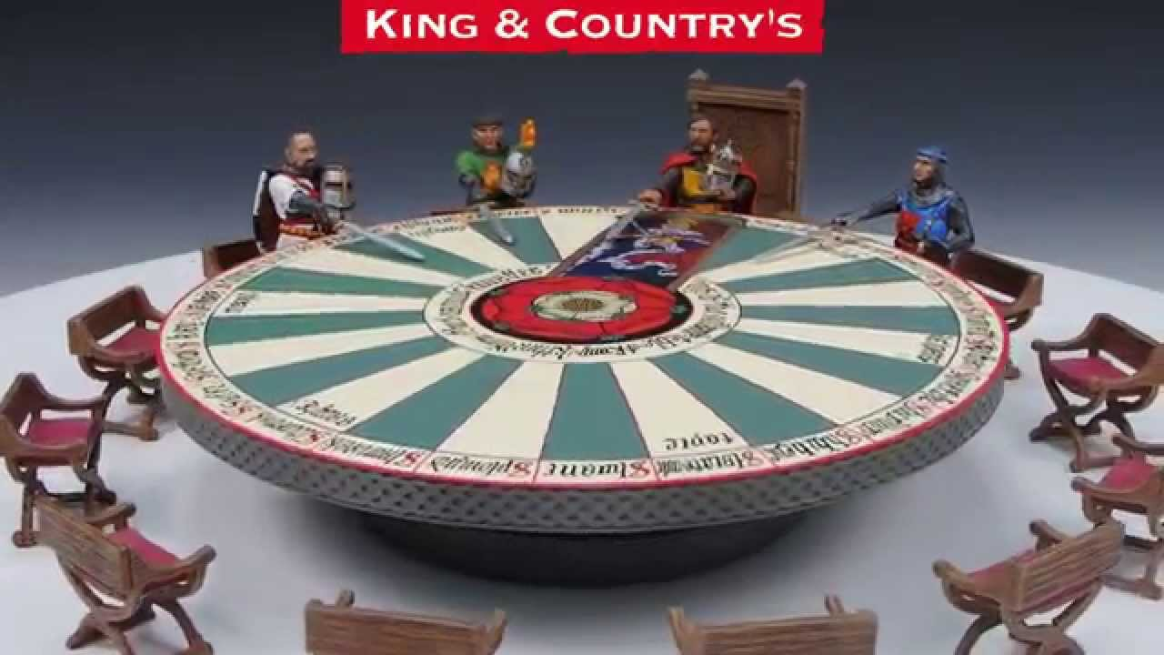 Mk137 140 king arthur his knights of the round table for 10 knights of the round table