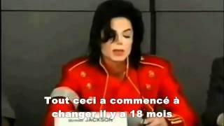 MICHAEL JACKSON conférence kingdom Entertainment 1996 sous titres francais vostfr