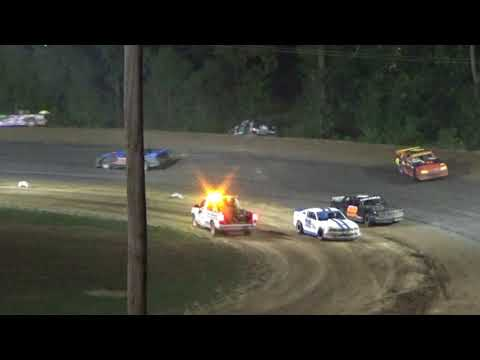 Street Stock Feature Race at Crystal Motor Speedway, Michigan on 09-03-2017!!