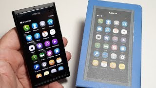 Nokia N9 Unboxing original phone N series RM-696 review N9-00. Призрак удачи