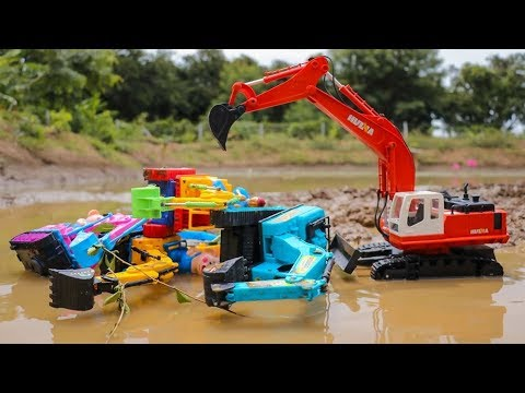 tarzan-excavator-fail-in-the-mud---construction-vehicles-toys-for-kids