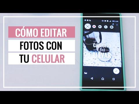 Tutorial: Editar fotos con tu celular para Instagram y redes sociales (Gratis) - SONIA ALICIA