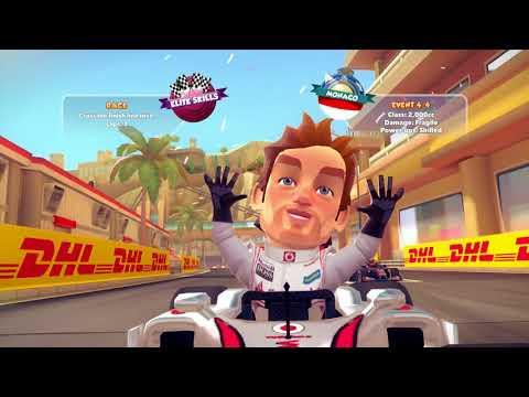 [Xbox 360] F1 Race Stars - Career: Elite Skills 2,000CC - Mark Webber