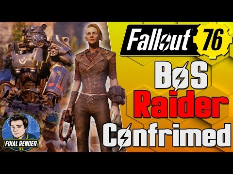 BoS & RAIDERS CONFIRMED!? Not Quite...Fallout 76 IN MENU BETA FOOTAGE