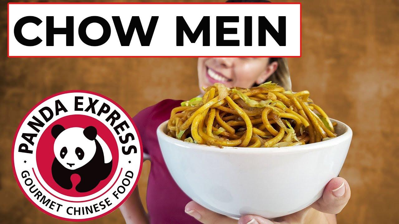 CHOW MEIN DO PANDA EXPRESS