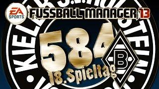 Fussball Manager Lets Play - #584 - 18. Spieltag  Borussia Mönchengladbach | Vanbergen