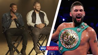 Creed II Stars reveal what it was like to work with Tony Bellew ????