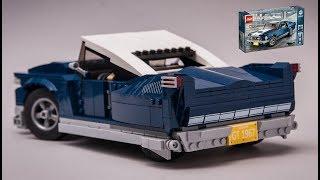 Age 16+ LEGO Ford Mustang set 10265 alternative model LOWRIDER moc