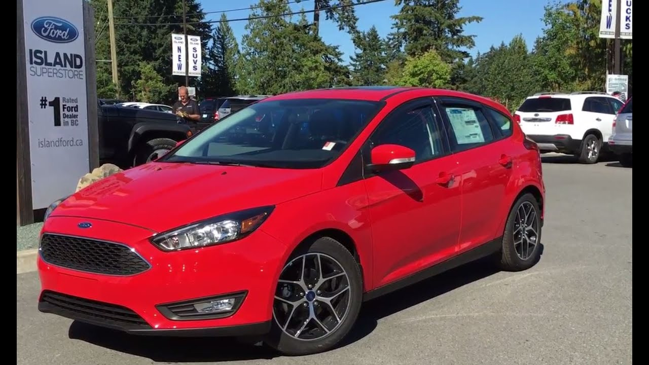 2016 Ford Focus Se Hatchback Island