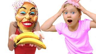 Милли и ее новая няня для папы | Правила поведения для детей