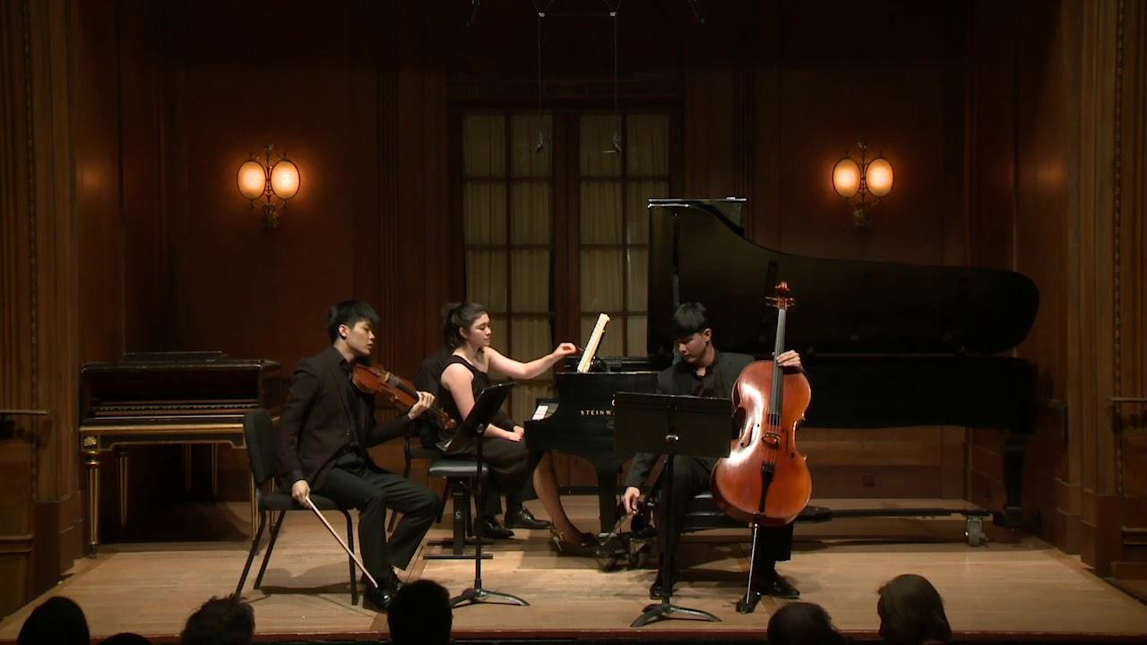 Mendelssohn Piano Trio No. 2 in C Minor, Op. 66