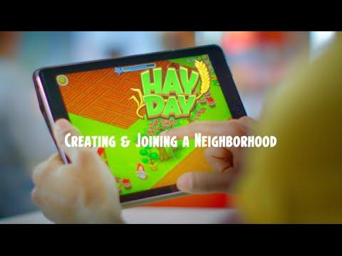 Hay Day: Creating & Joining a Neighborhood
