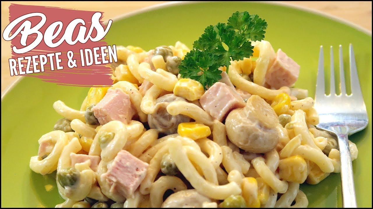 Nudelsalat Rezept | Salat Klassiker Kochen | Kalte Küche - YouTube