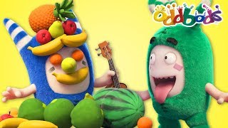 Food Fiasco #4 | Oddbods | NEW Full Episodes