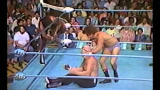 Irish Mickey Doyle & Budda Khan vs Ox Baker & Enforcer Luciano - L.A. Olympic Auditorium