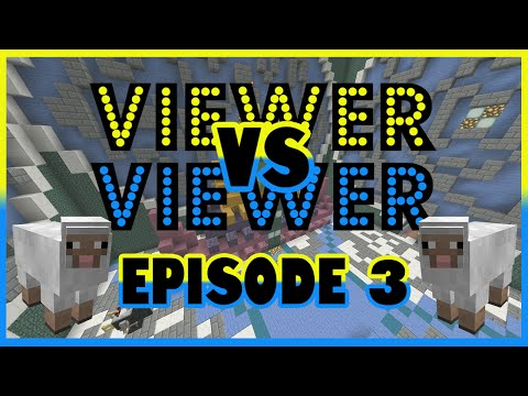 Viewer Vs Viewer || Minecraft YouTube Game Show #3