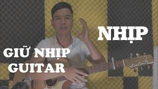 Guitar talks #1 CHIA SẺ KINH NGHIỆM GIỮ NHỊP - RẤT QUAN TRỌNG