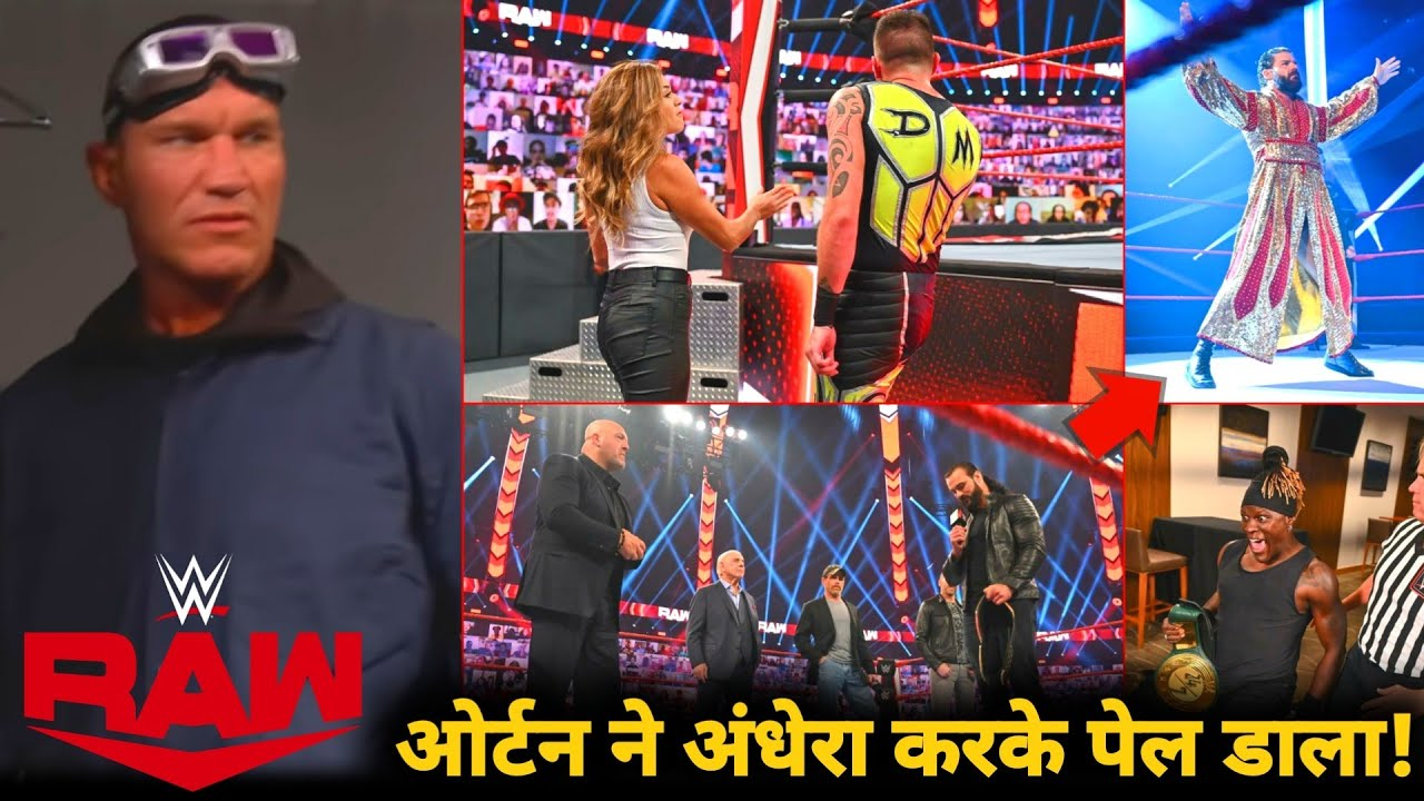 Orton Ne Sabko Pela 😵' Randy Sneak-Attack legend, Roode Return, Aalyah Slaps Bro, WWE raw Highlights