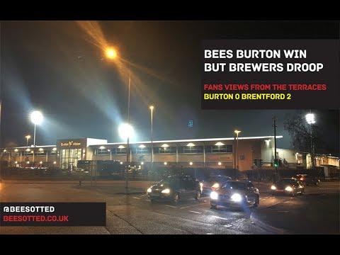 Bees Burton Win But Brewers Droop – Burton 0 Brentford 2
