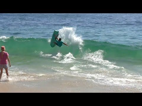 FINLESS Surfing & High tide CARNAGE  RAW BEEFS Ep 8