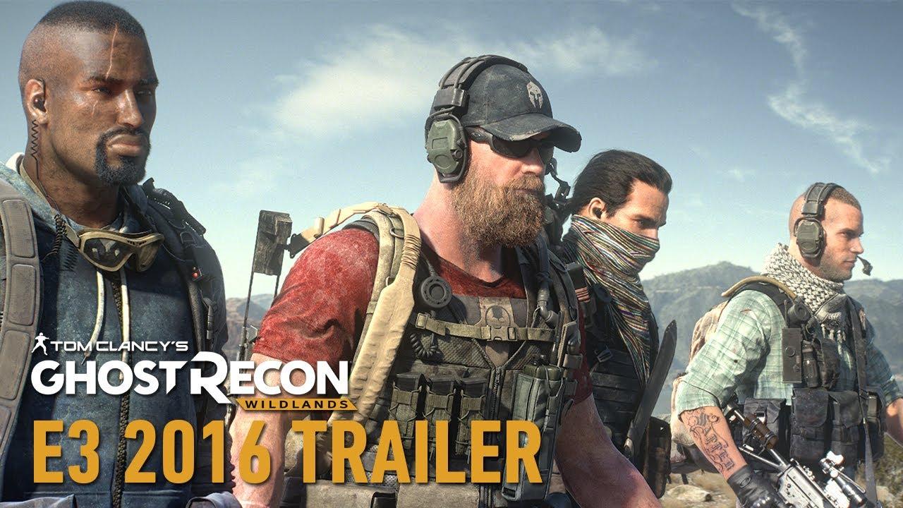 Tom Clancy's Ghost Recon Wildlands《火線獵殺:野境》E3 電影式預告片 / E3 CGI Trailer [中文字幕] - Ubisoft SEA - YouTube