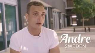 Andre from Sweden loves talking about Bond University and the Gold Coast lifestyle