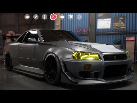 Need For Speed: Payback - Nissan Skyline GT-R V-Spec (1999) - Customize | Tuning Car HD
