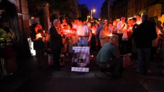 Pro-Life Vigil at Dáil Eireann