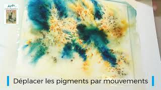 Comment utiliser l'aquarelle en pigment (Brushos)
