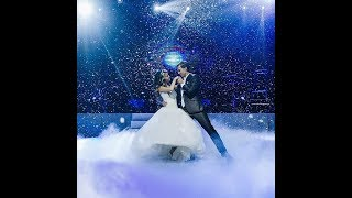 Медленный свадебный танец. Сказочно красиво!
