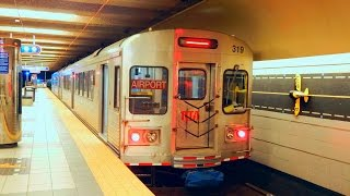 Cleveland RTA: RED Line (Subway) to Louis Stokes-Windermere... FULL RIDE! thumbnail