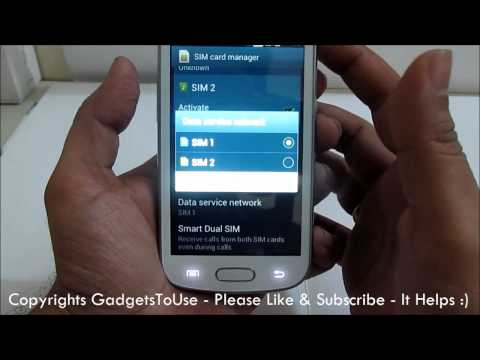 Samsung Galaxy S Duos Dual Sim Manager Working Explained
