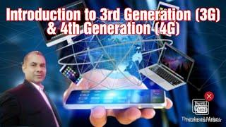 W&MC_Live Session-16: Introduction To 3rd Generation (3G) & 4th Generation (4G) I Hindi I English