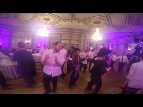Yosef-Zev and Yaeli Hasana - Wedding - Jewish Dancing - GoPro POV - ב' בשבט תשע״ו