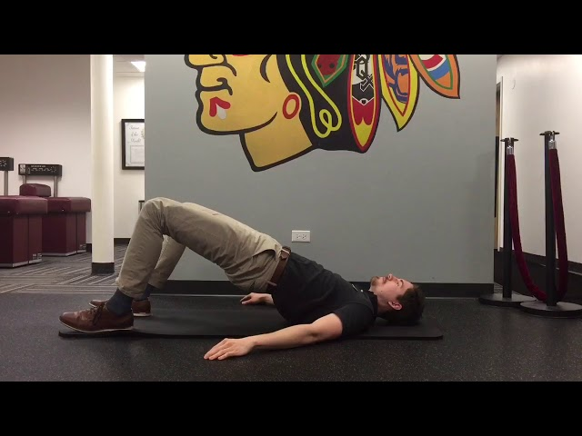 Glute Bridge | Exercise Of The Week | Advanced Spine & Sports Care Chicago